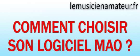 You are currently viewing Comment choisir votre logiciel MAO ?
