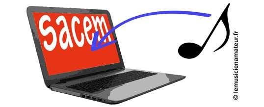 Comment déclarer un titre en ligne à la SACEM en 5 minutes ?