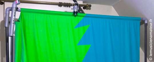 Comment choisir son fond bleu ou vert pour vos clips ?